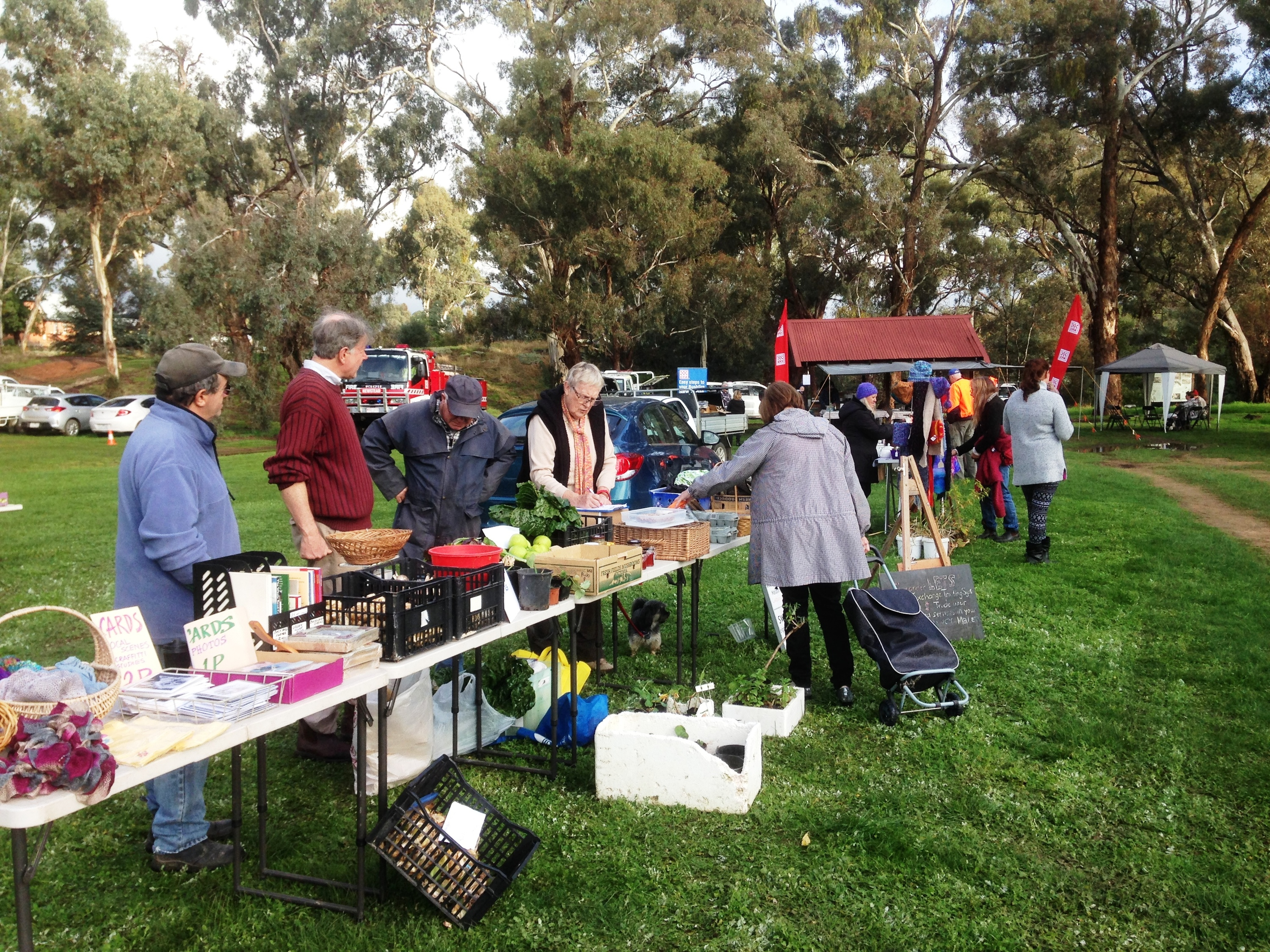 Newstead CFA Community Markets