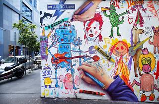 AC/DC Lane, Melbourne Street Art 2017, photo credit: Graham Denholm