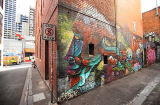 Croft Alley, Melbourne Street Art 2017, photo credit: Graham Denholm