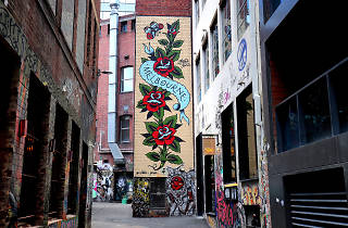 Duckboard Place, Melbourne Street Art 2017, Photo credit: Graham Denholm