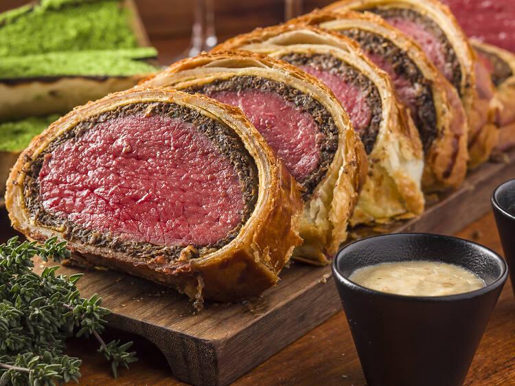 Bread Street Kitchen – beef wellington class