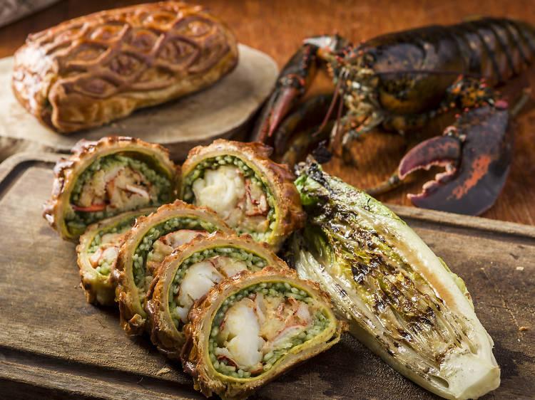 Bread Street Kitchen – lobster wellington class