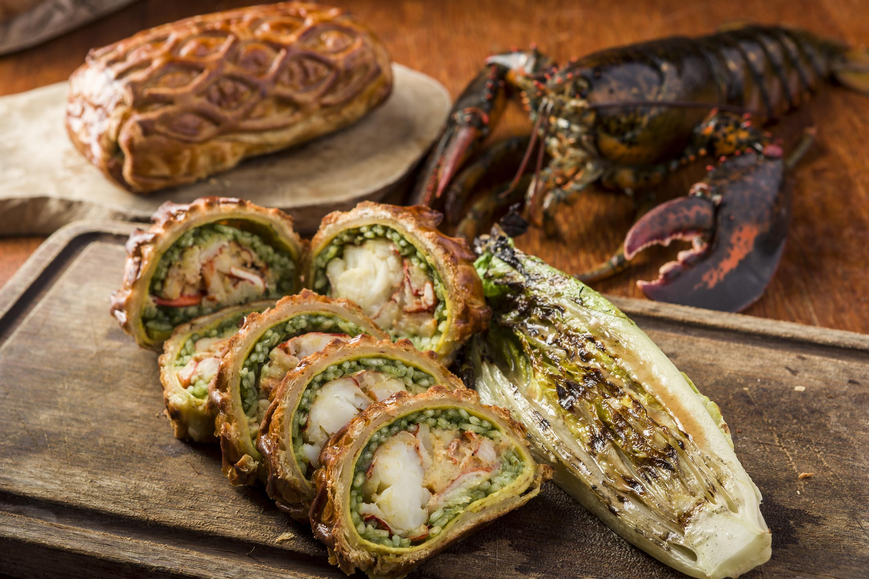 lobster wellington bread street kitchen