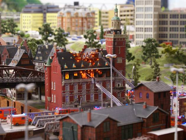 Marvel at the tiny attention to detail at Miniatur Wunderland