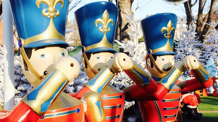 Les marchés de Noël old school à Paris