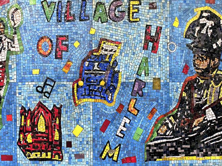 Willie Birch, Harlem Timeline, 1995