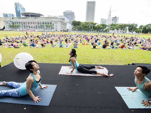Marina Bay Countdown fitness