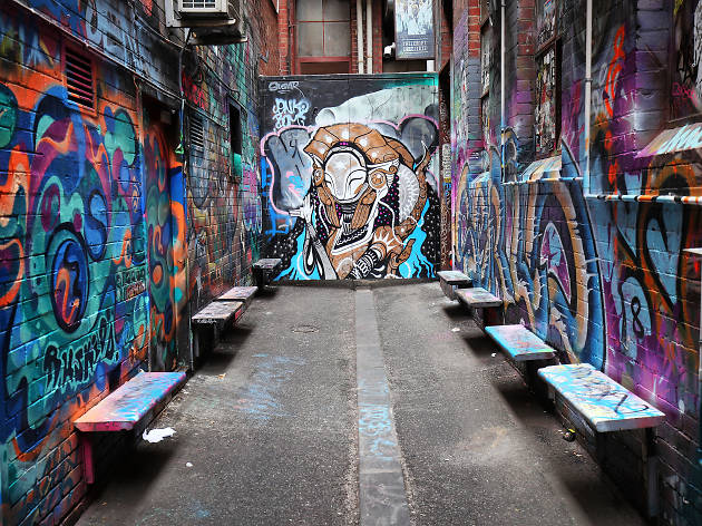 Where to find street art in Melbourne