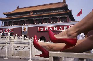 A Fashion Picture Show in CHINA; Pekin- Plaza Tian-A-Men