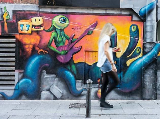 Madrid Street Art Project Malasaña