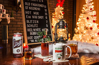 Check out Chicago Athletic Association's wildly festive holiday pop-up bar, open tonight
