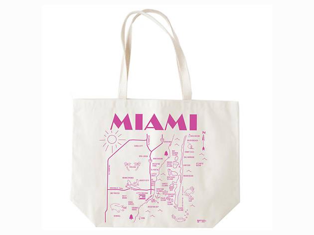 Miami beach tote
