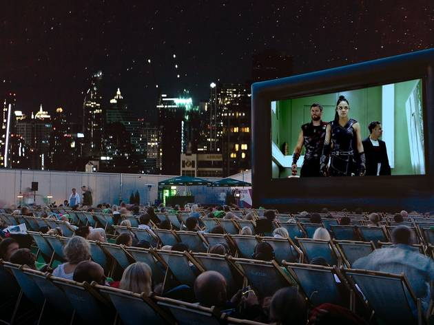 Screen at Rooftop Cinema