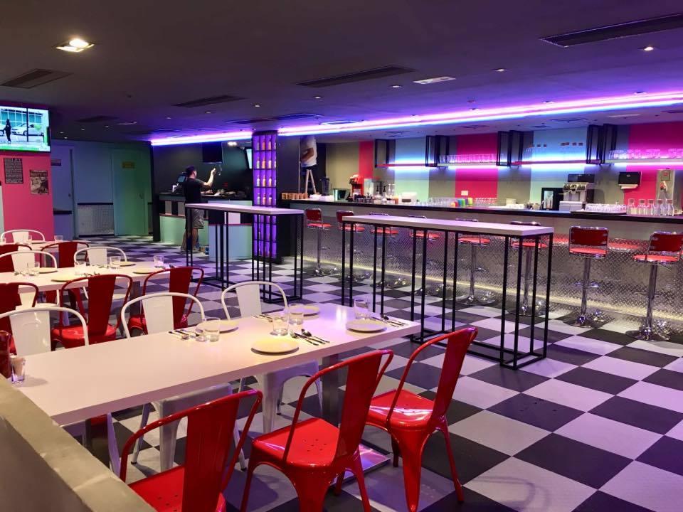 Speedway Diner interior