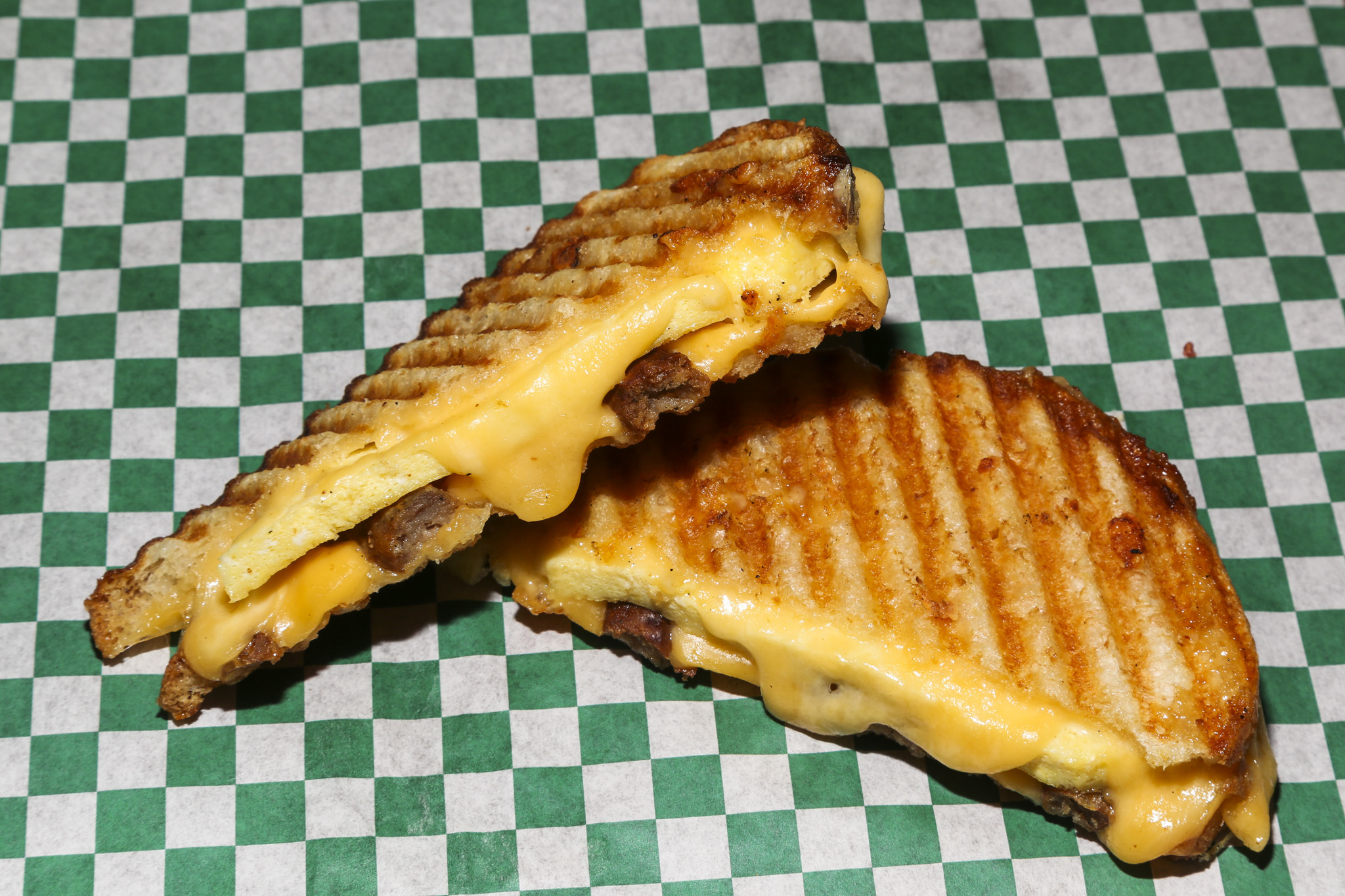 The Breakfast Club No. 1 at Gayle's Best Ever Grilled Cheese