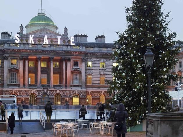 Magic for Christmas: Storytelling beside the Somerset House Christmas Tree