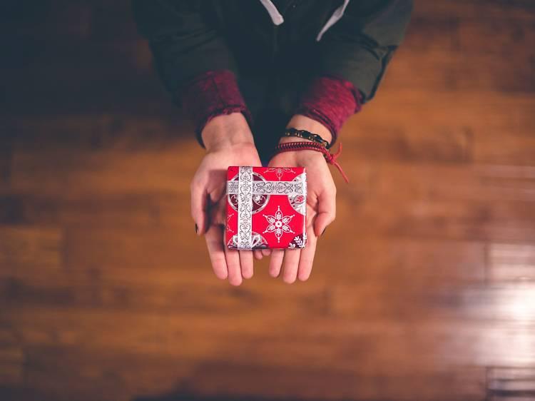 Presentes de Natal solidários