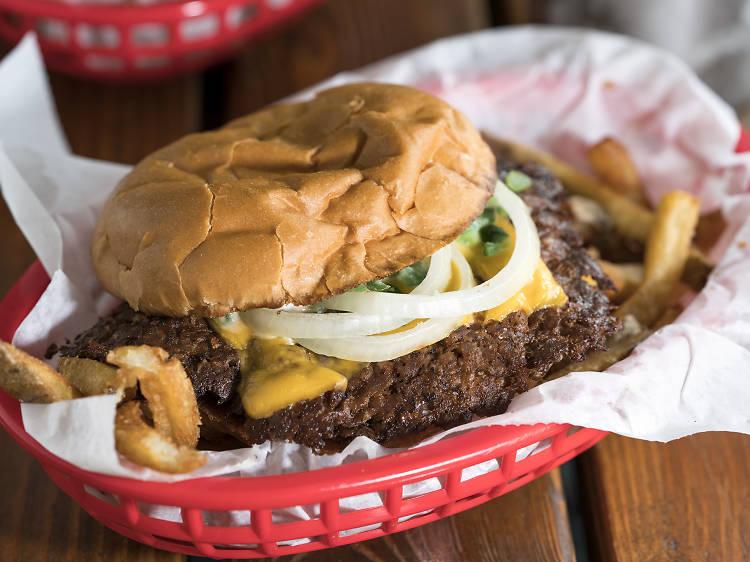 Single Cheeseburger at The Region