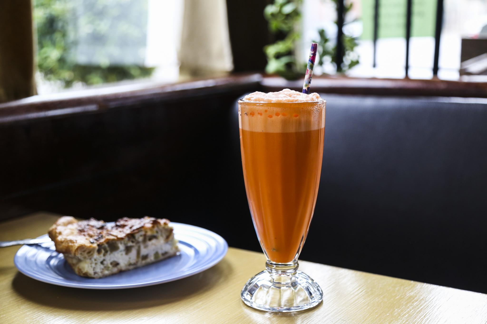 Thai tea egg cream at Spinning J