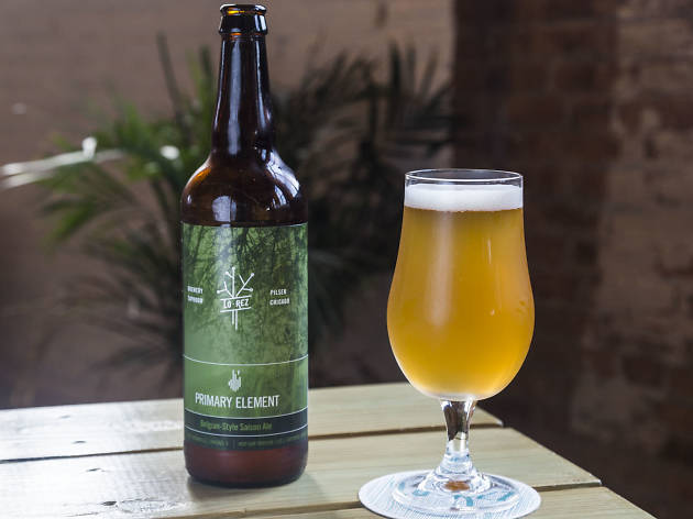 Keeper Quencher Summer saison at Lo Rez Brewery & Taproom