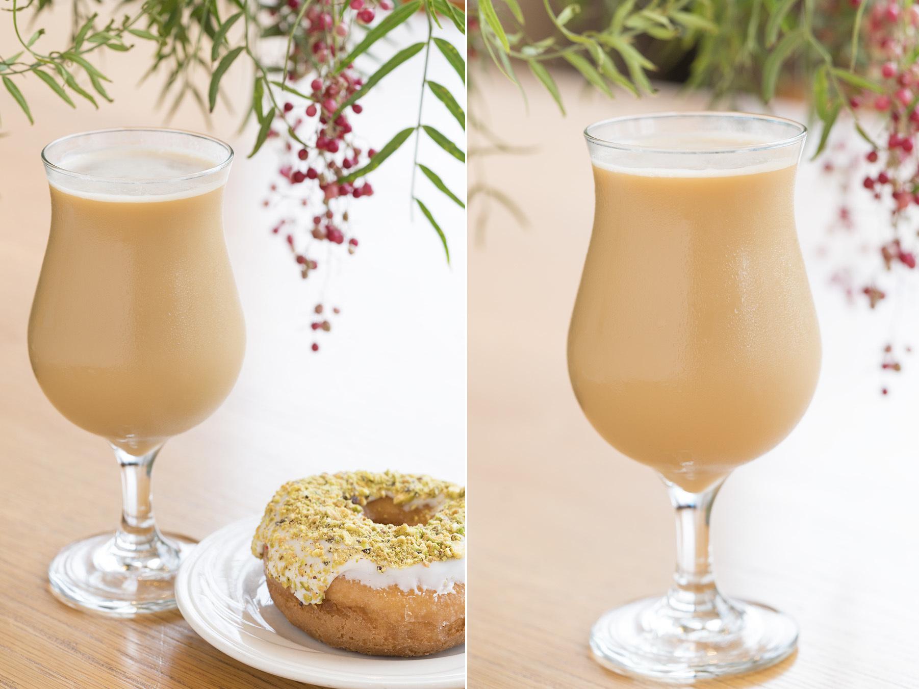 Cardamom spice latte at Big Shoulders