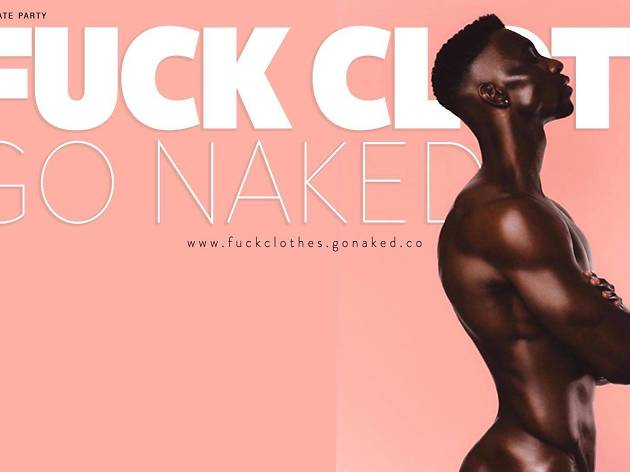 Fuck Clothes Go Naked is a nude dance party in the Philadelphia Gayborhood