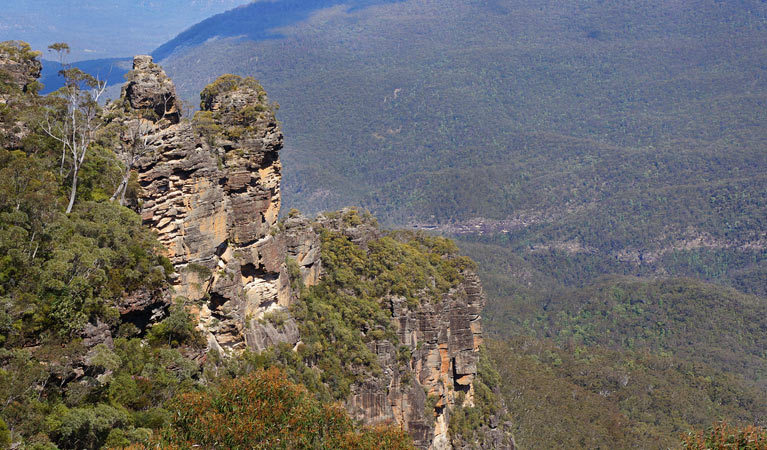 Spooners Lookout, Echo Point, Blue Mountains National Park