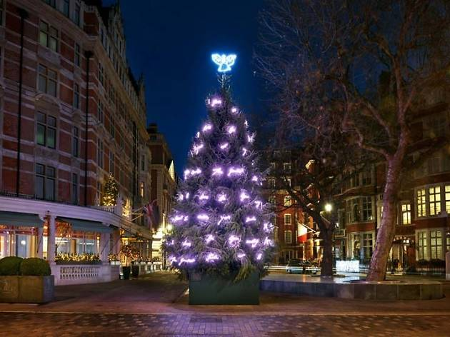tracey emins christmas tree at the connaught - Are Bars Open On Christmas Eve