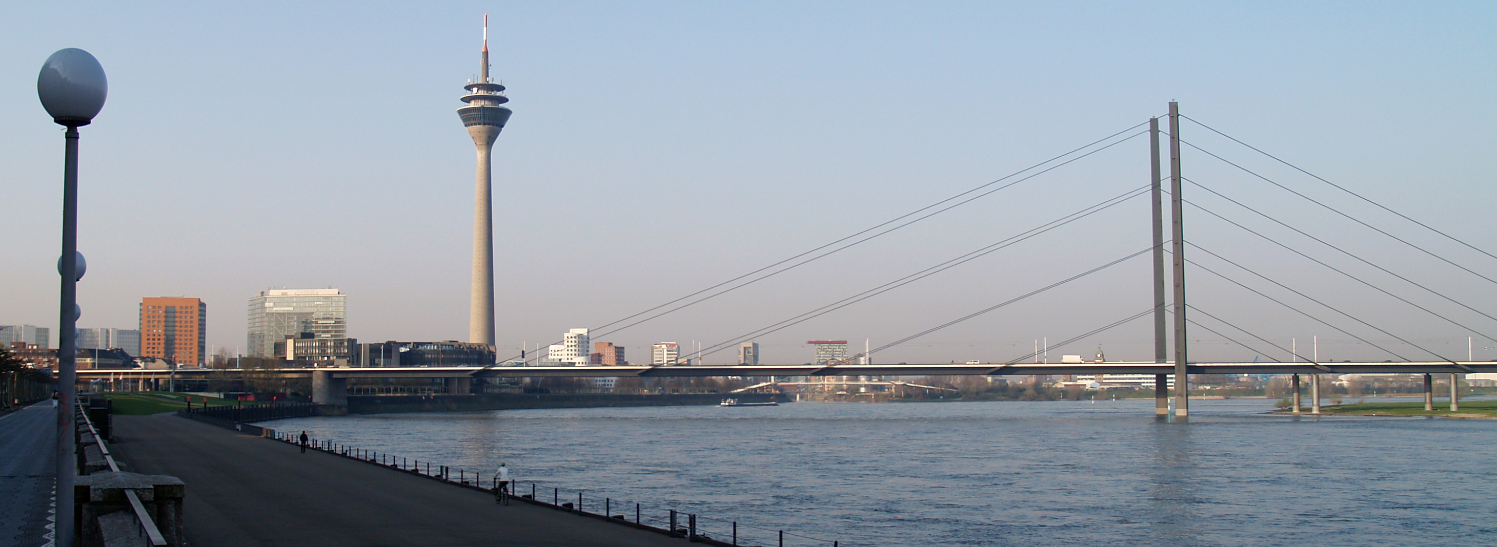 View the Rhine from the water