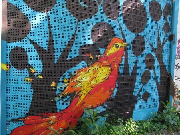 Check out the incredible graffiti of Kiefernstraße in Flingern-Süd