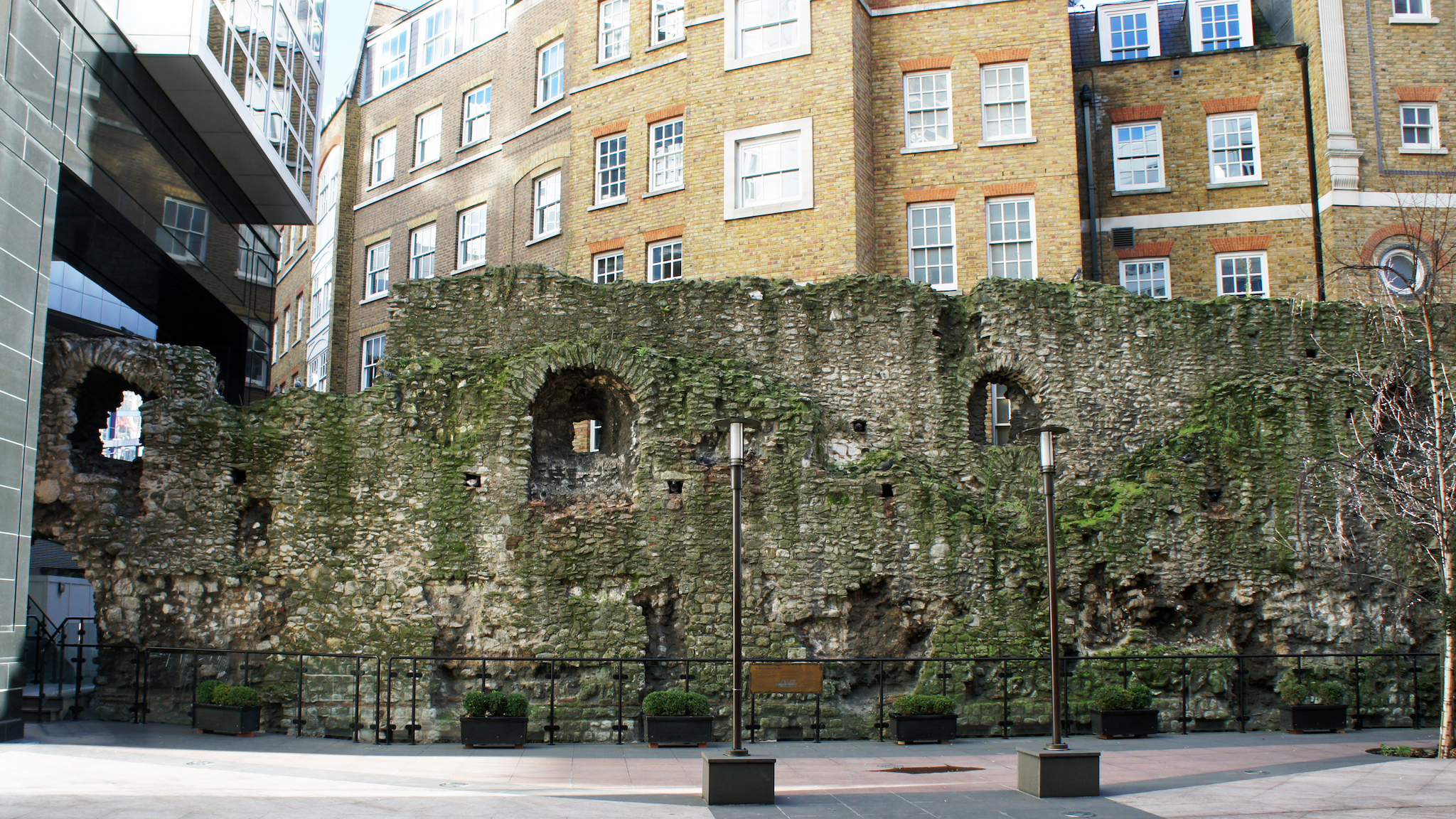 London Wall, Roman wall in City of London
