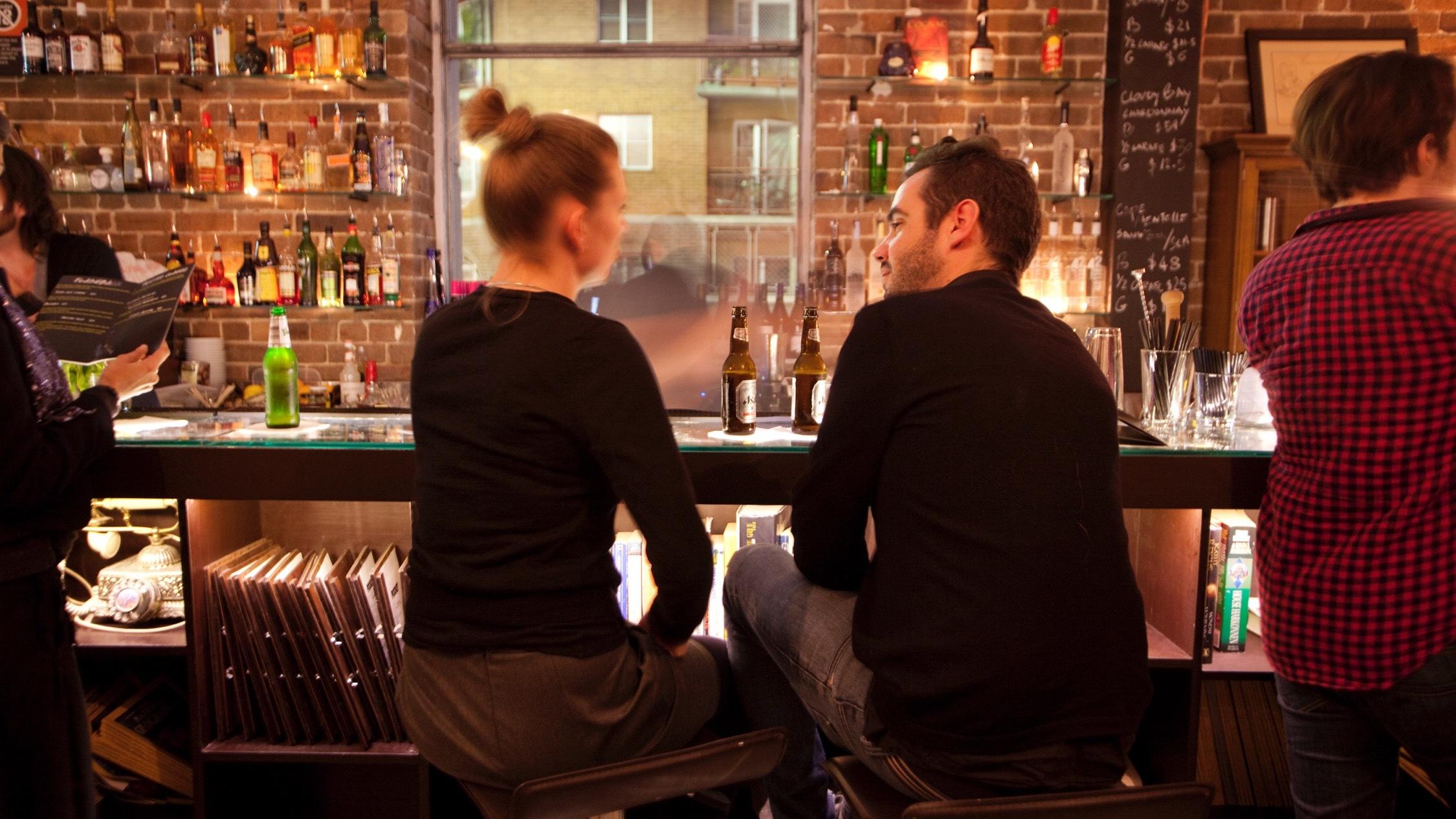 People inside at Pocket Bar