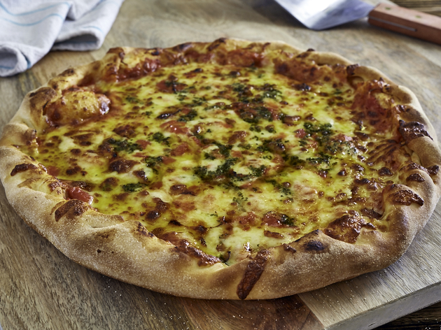 New Britannia Margherita pizza (Photograph: Supplied)