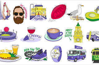 Bank of Melbourne emoji stickers