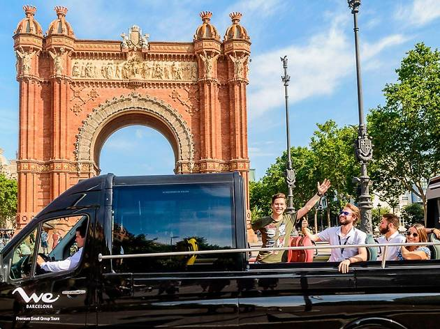 Barcelona bus tours- Luxury SUV
