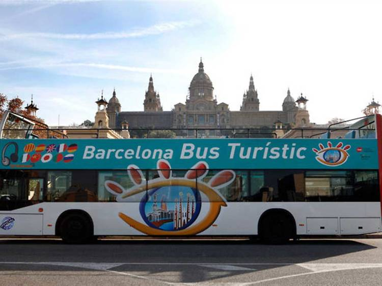 City sightseeing hop-on-hop-off tour