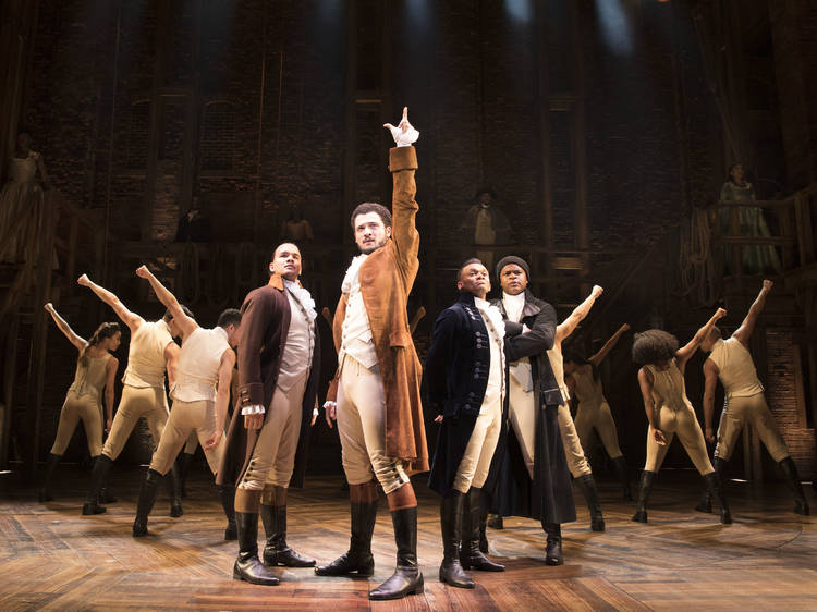 Hamilton tickets and review