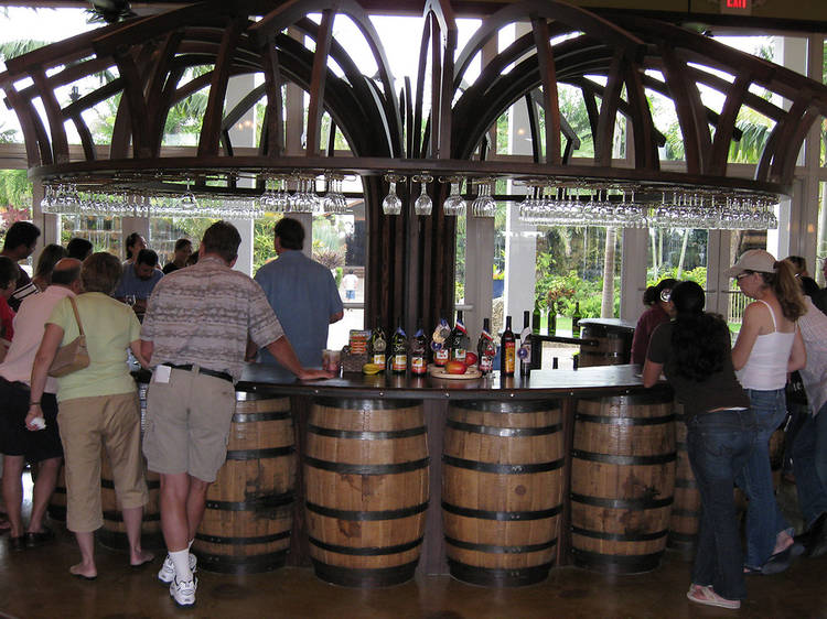 Wine tasting and tour at Schnebly Redland's Winery