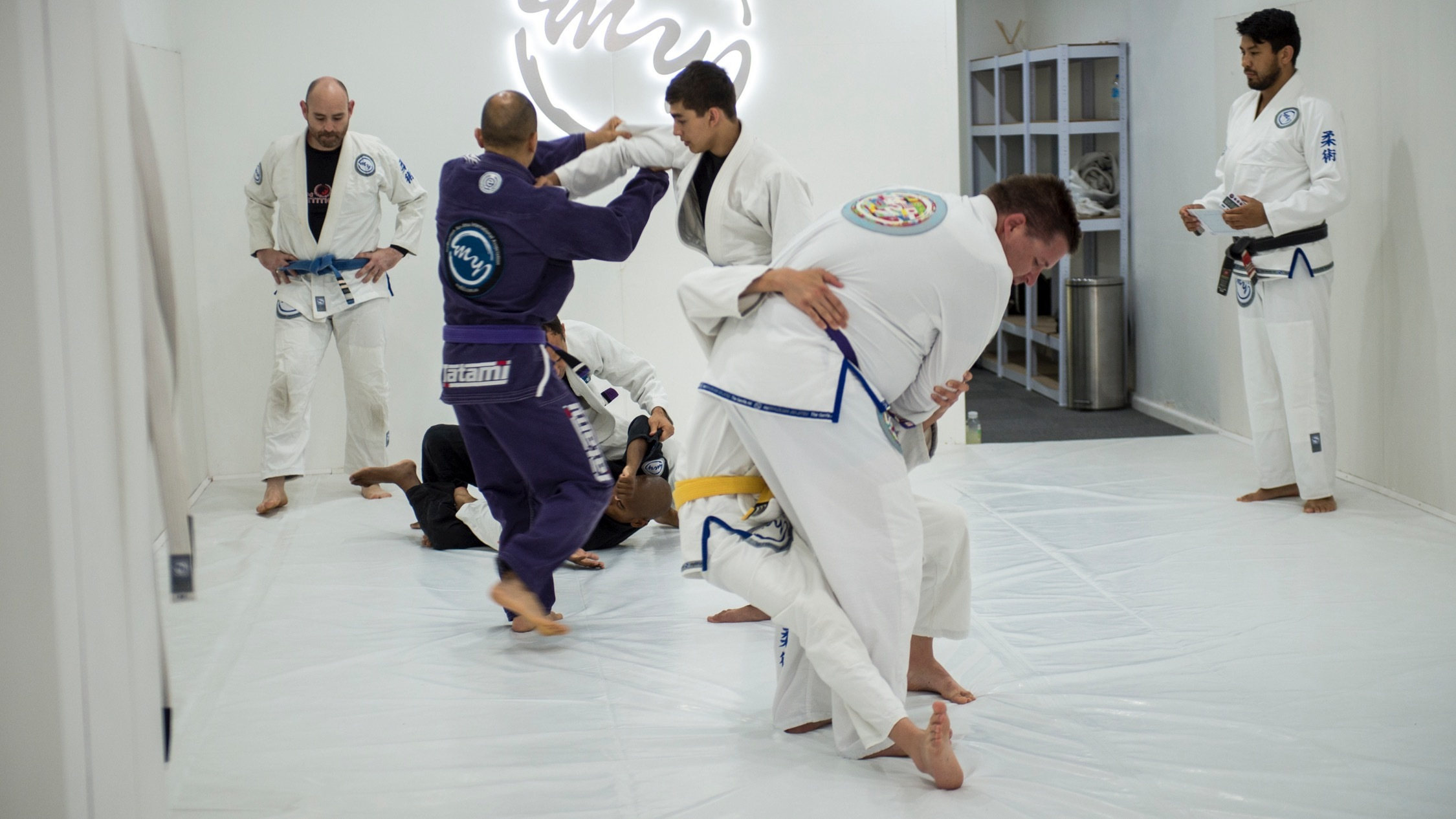 Class at My BJJ Team Brazillian Jiu-Jitsu