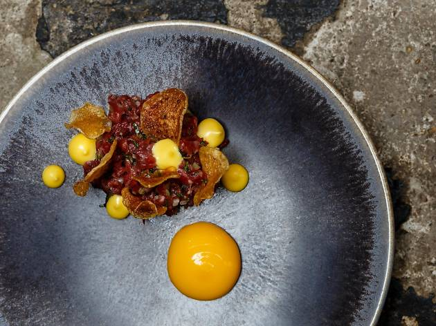 Top 100 dishes - magpie - beef tartare
