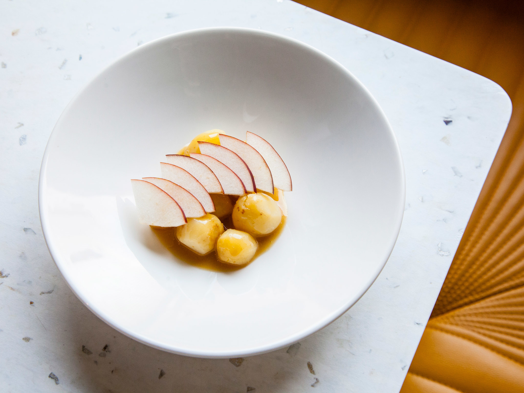 top 100 dishes - roots and apple - CUB