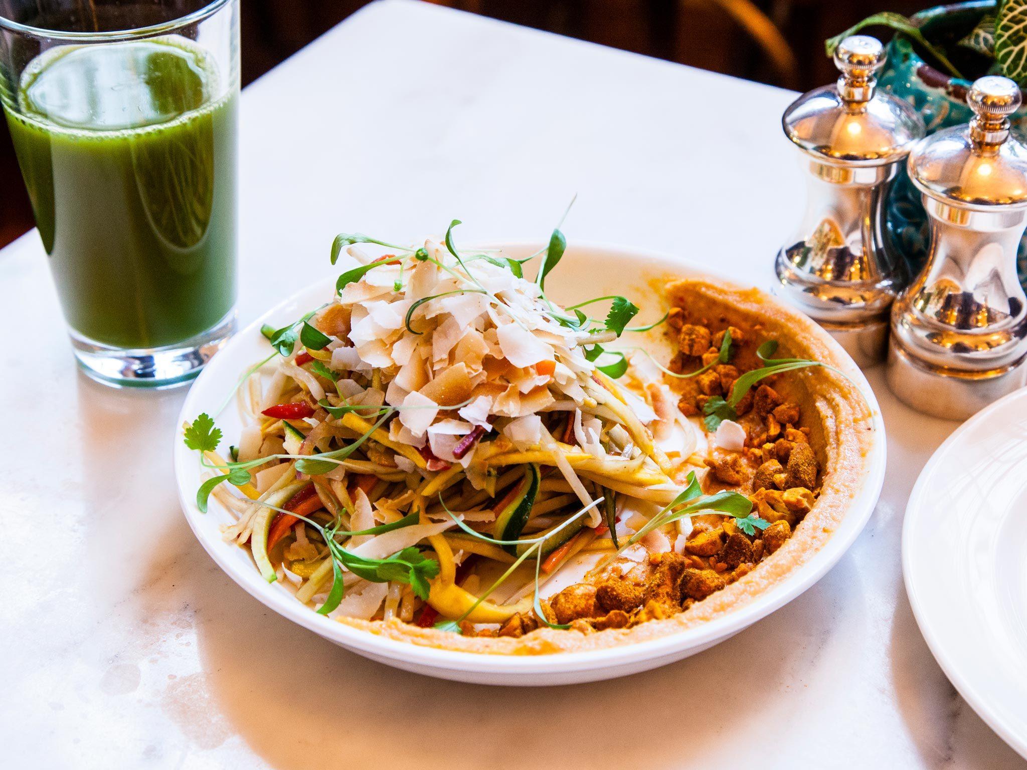 top 100 dishes - malibu kitchen - young coconut salad