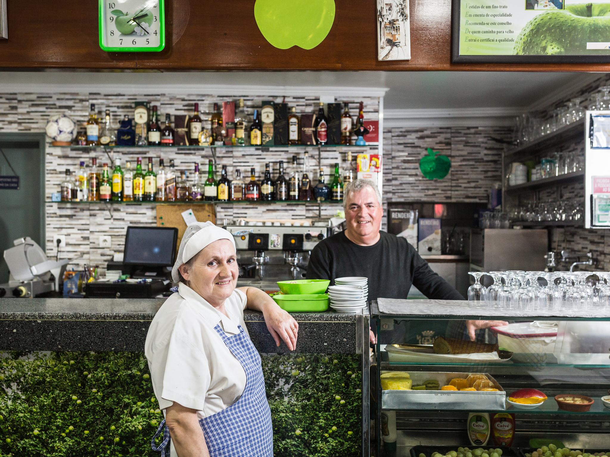 Restaurante, Maçã Verde