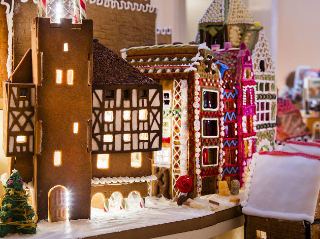 Visit this mini city made (almost) entirely from gingerbread