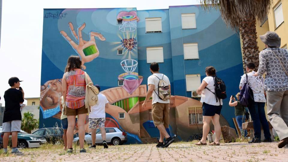 arte urbana quinta do mocho