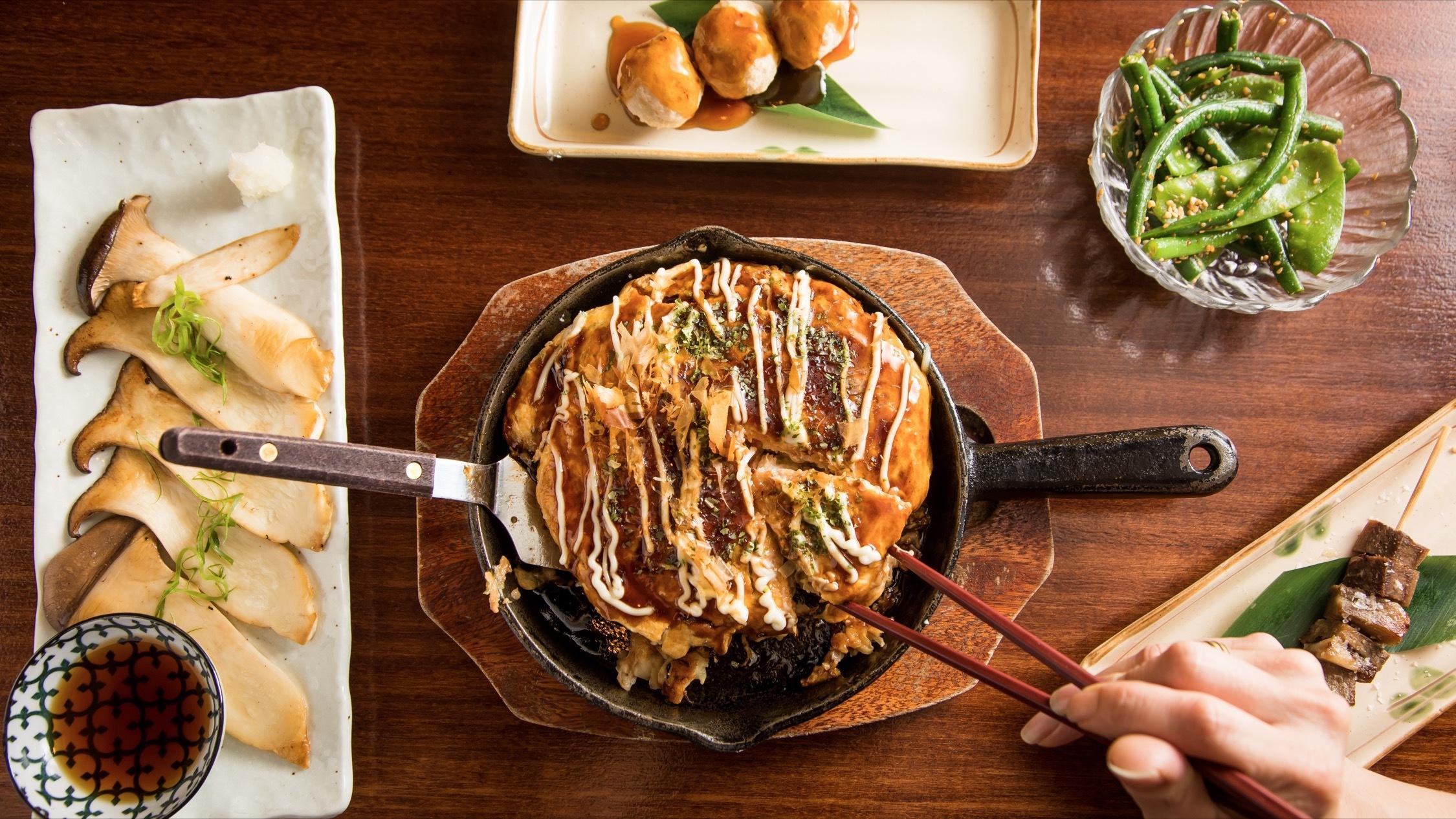 Food at Kujin Elizabeth Bay Teppanyaki