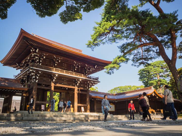 Escape into the inner city sanctum that is Meiji Jingu