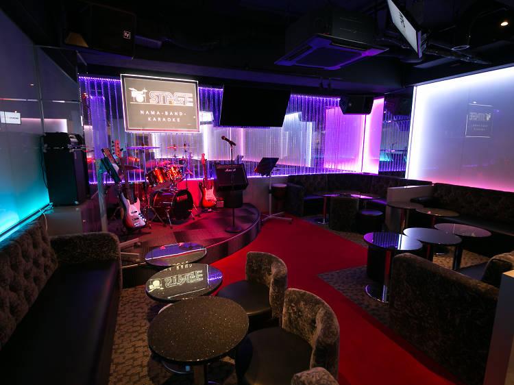 Live Band Karaoke Stage