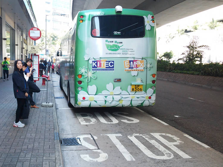 Where are the minibuses to KITEC?