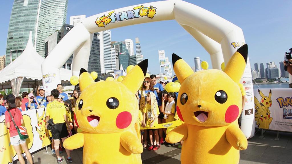 Pokémon Run Carnival 2018